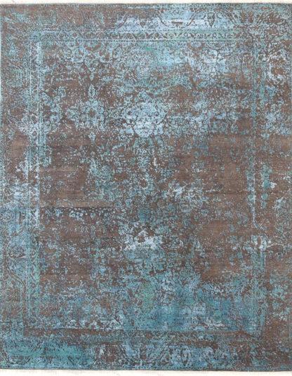 Ковер Fresco 2001-B-GREY-BLUE