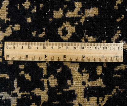 Juodas su auksu kilimas Fresco 2001C4-BLK-LGLD c