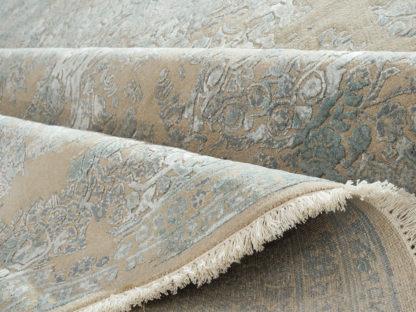 Geslvai žydras vintažinis kilimas Fresco CE-1309-BGE-LBLU