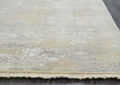 Gelsvai žydras vintažinis kilimas Fresco CE-1309-BGE-LBLU