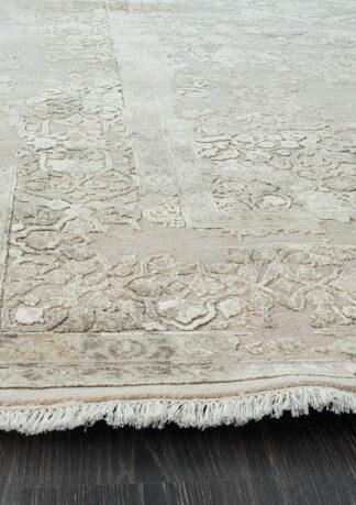 Stačiakampis vintažinis kilimas Fresco CE1309-BGE-GRY