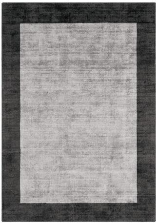 Kilimas iš kolekcijos Blade Border by Asiatic CHARCOAL/SILVER