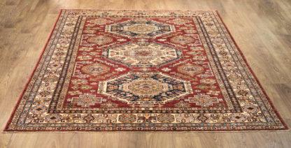 Kaukazietiško dizaino kilimas Kazak 82095 RED-IVR e