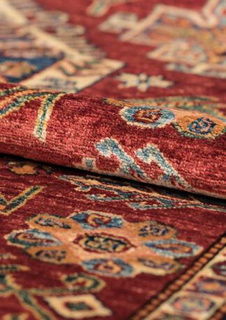 Kaukazietiško dizaino kilimas Kazak 82095 RED-IVR b