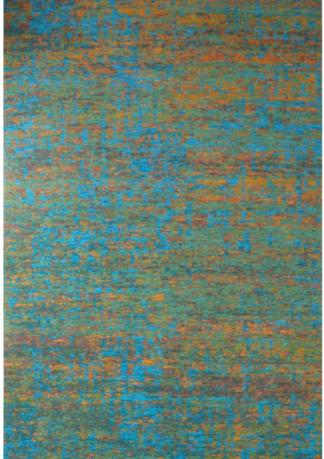Kilimas Elegant Tapestry GRAFITTI OCEAN-GREEN 1